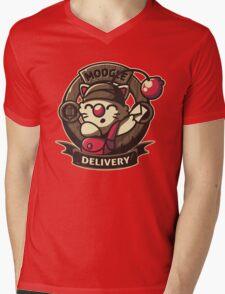 Moogle Delivery Mens V-Neck T-Shirt