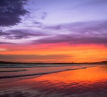 Ocean Grove at Dusk by Julie Begg