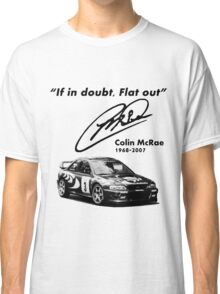 If in doubt, Flat out (with subaru) Classic T-Shirt