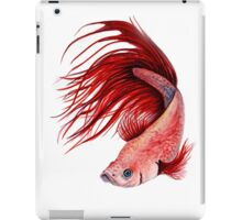 Red Beta iPad Case/Skin