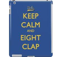 Keep Calm and Eight Clap iPad Case/Skin