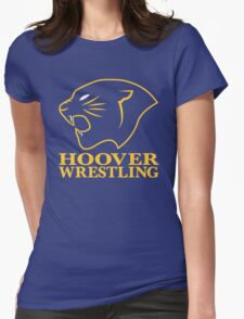 Hoover Wrestling 2 Womens Fitted T-Shirt