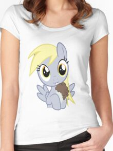 Have yourself a Derpy little milkshake Women's Fitted Scoop T-Shirt