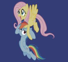 The Flutter Shy fly! by rushbiscuit