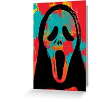 Ghost Face PoP Greeting Card