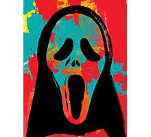 Ghost Face PoP Photographic Print