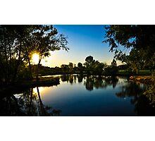 Sunset Reflection Photographic Print
