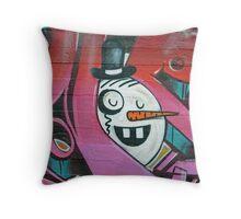 The Snowman Head Throw Pillow