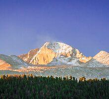 Longs Peak in the Morning by Reese Ferrier