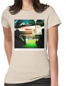 Got the Zinc Cream? Womens Fitted T-Shirt