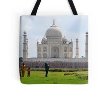 The Taj Mahal India Tote Bag
