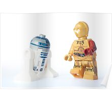 I know I have a red arm now R2, but why doesn't anyone notice my new gold leg? Poster