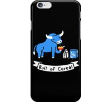 Bull of Cereal iPhone Case/Skin