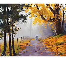 Lovers Walk Photographic Print