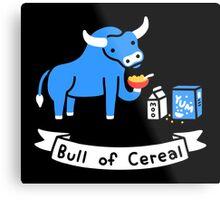 Bull of Cereal Metal Print