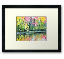 River Reflections Framed Print