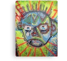 Freaky Face Canvas Print
