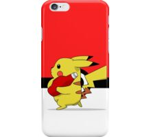 Pika Ketchup  iPhone Case/Skin