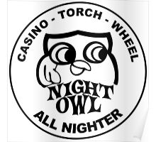 Night owl Poster