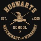 Harry Potter, Hogwarts Graduate Hoodie by Artpunk101