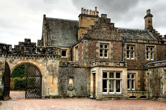 Abbostsford House by Christine Smith