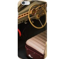 Interior retro car iPhone Case/Skin