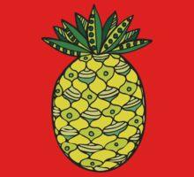 Ananas One Piece - Short Sleeve