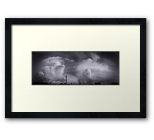©HCS Big Bang Cloud Monochrome Framed Print