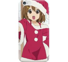 K-On!! - Yui Hirasawa - Santa - Christmas iPhone Case/Skin