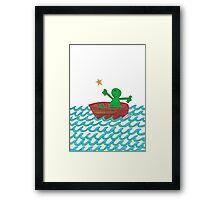 One Boat Each... Framed Print
