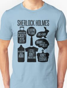 Sherlock Quotes T-Shirt