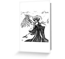 Icicle Works Greeting Card