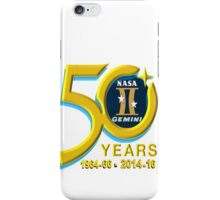 Project Gemini - 50th Anniversary! iPhone Case/Skin