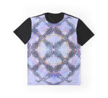 Lavender Light Cage Graphic T-Shirt