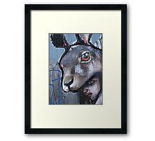 The beast in me Framed Print
