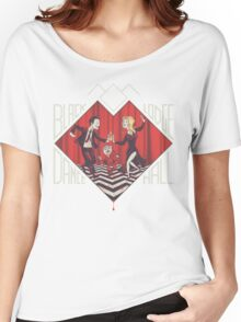 BLACK LODGE DANCE HALL Women's Relaxed Fit T-Shirt
