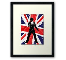 Made In Britain: James Bond, 007 Framed Print