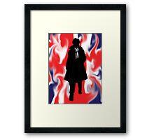Made In Britain: Sherlock Framed Print