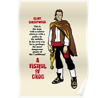 A Fistful of Grog Poster