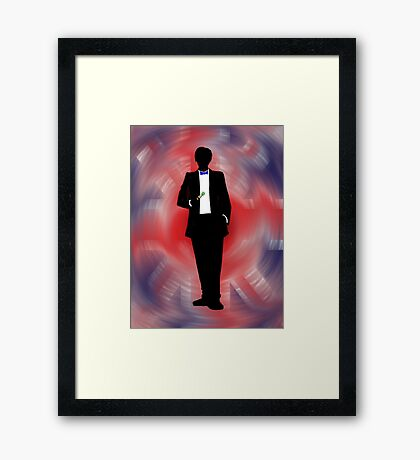 Made In Britain: Doctor Who Framed Print