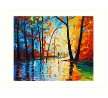 Street Colors Art Print