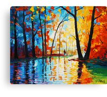 Street Colors Canvas Print