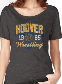 Hoover Wrestling 3 Women's Relaxed Fit T-Shirt
