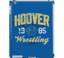 Hoover Wrestling 3 iPad Case/Skin