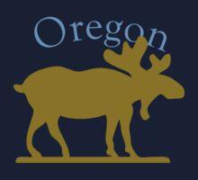 Oregon Moose Baby Tee