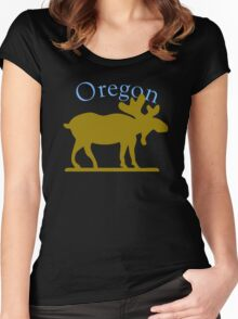 Oregon Moose Women's Fitted Scoop T-Shirt