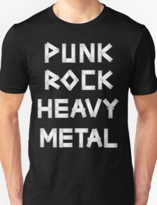 Punk Rock Heavy Metal Unisex T-Shirt