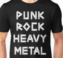 Punk Rock Heavy Metal Unisex T-Shirt