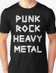 Punk Rock Heavy Metal T-Shirt