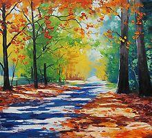 Autumn Mt Wilson, nsw by Graham Gercken